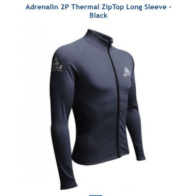 Adrenalin 2P Thermo Long Sleeve Top with Zip