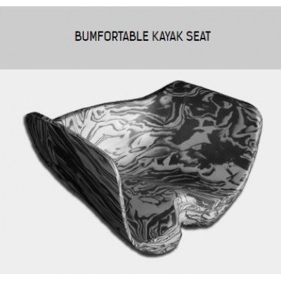 Bumfortable kayak seat flat or round hull