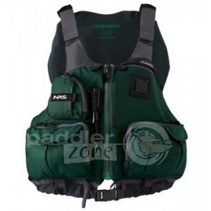 NRS Chinook Fishing PFD - Green