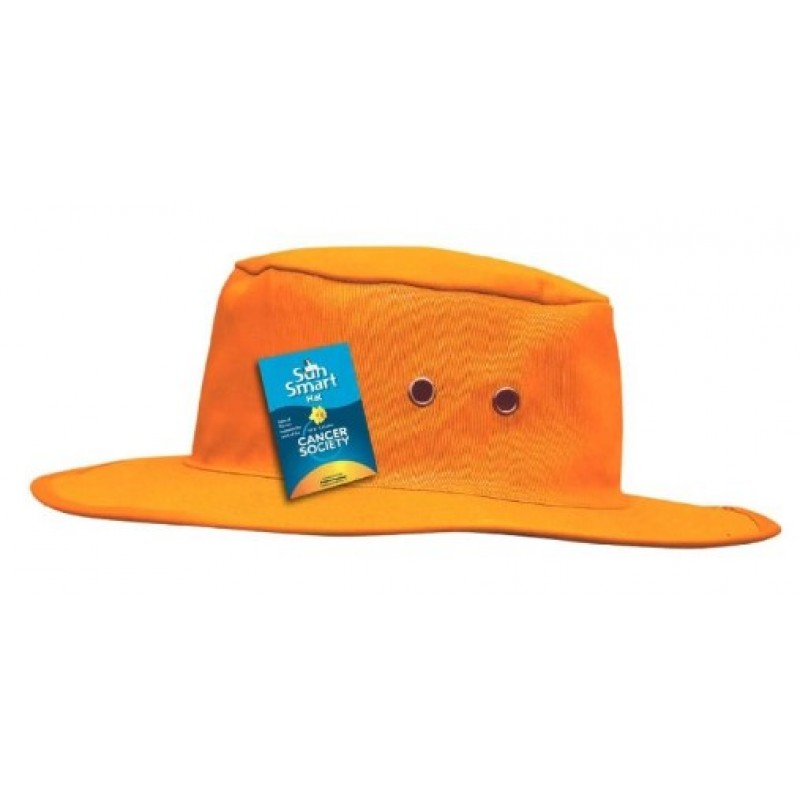 Flat Brim Hat With Neck Protector