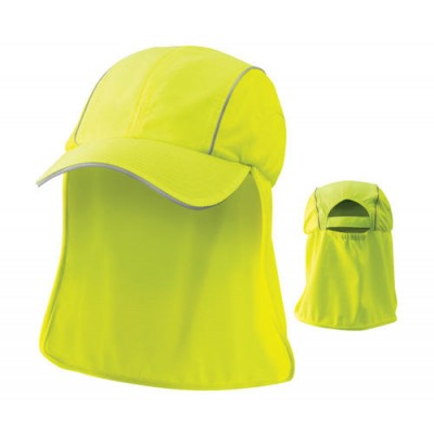 Hi Viz Cap with neck protection